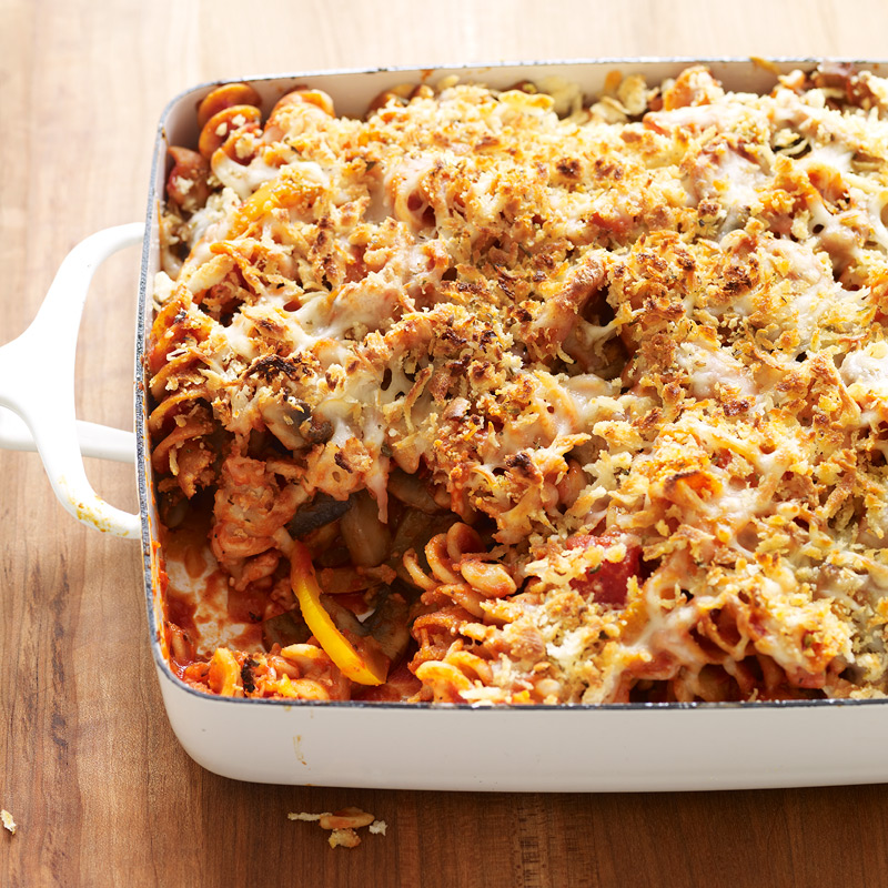 Photo of Chicken sausage, mushroom and pasta casserole by WW