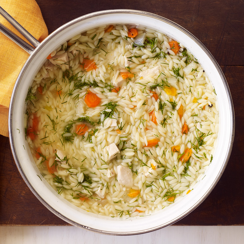 Photo of Chicken and orzo soup with fennel by WW