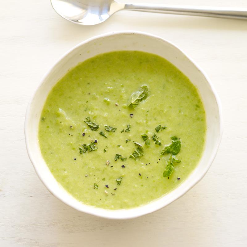 yogurt mint soup