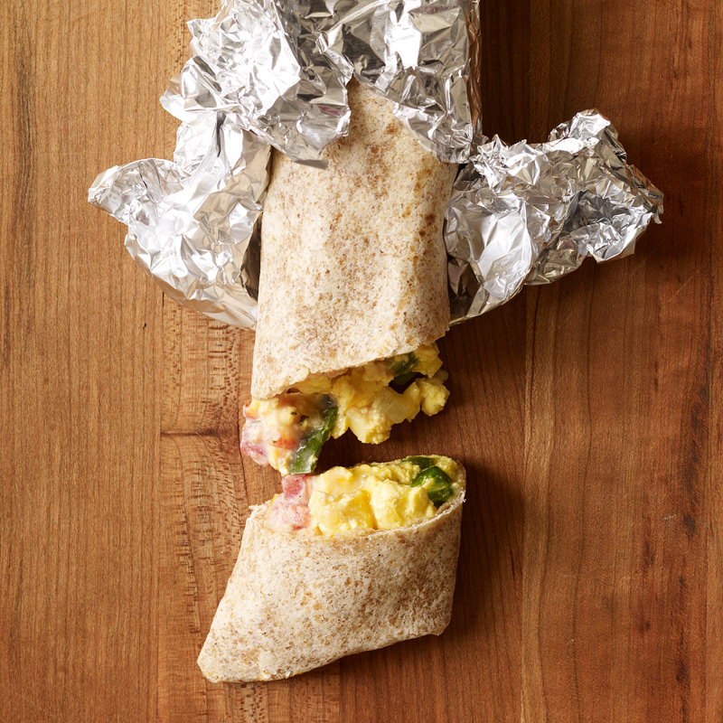 Photo of Mexican breakfast burritos by WW