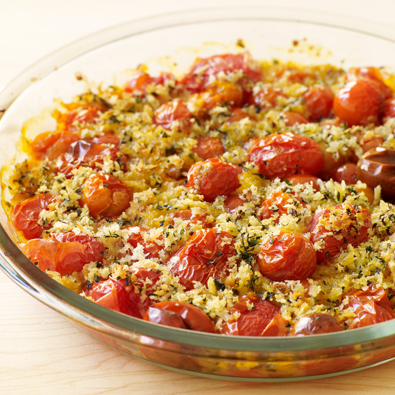 Photo of Slow-Roasted Cherry Tomatoes with Herbed Crumbs by WW