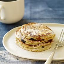 Photo of Blueberry-bran pancakes by WW