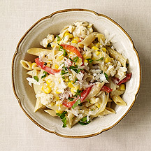 Photo of Crab and corn pasta by WW