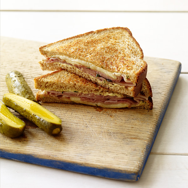 ... Watchers Recipe - Grilled Ham and Cheese with Rosemary Dijon Spread