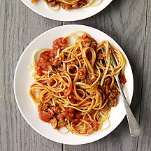 Photo of Linguini with red clam sauce by WW
