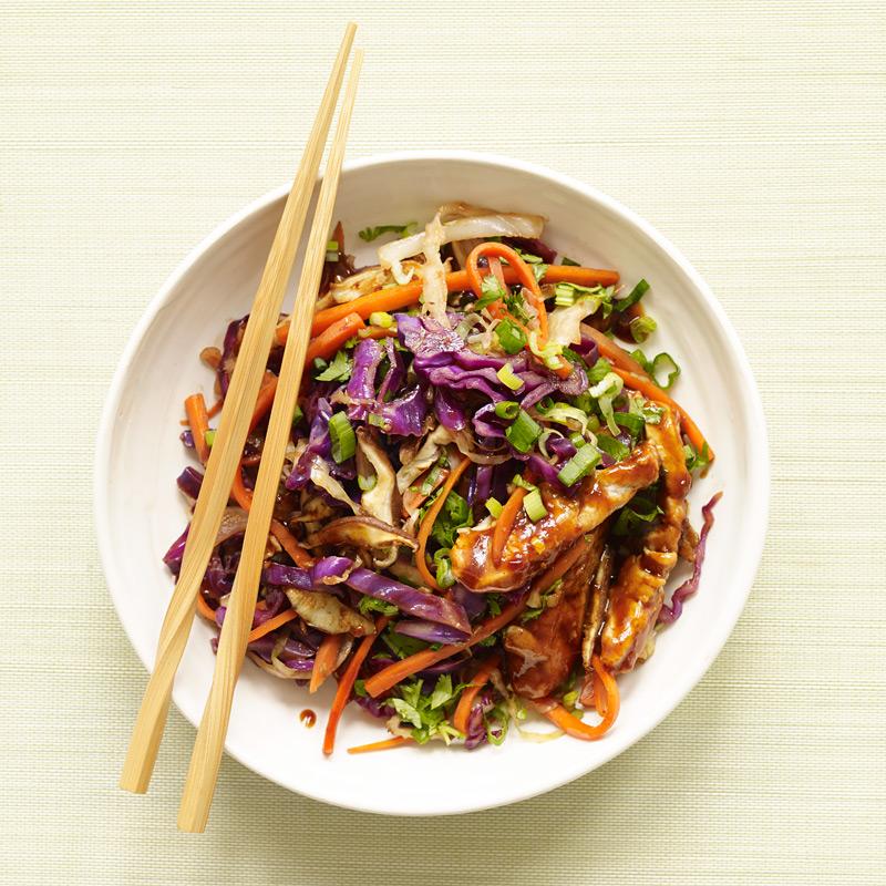 Photo of Moo shu pork stir-fry by WW