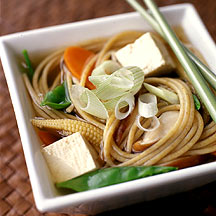 Photo of Asian tofu-noodle soup by WW