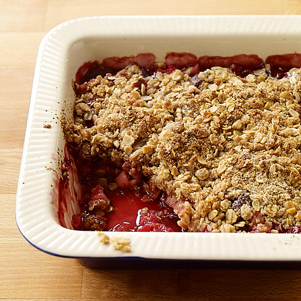 Cherry Crumble Recipe — Dishmaps