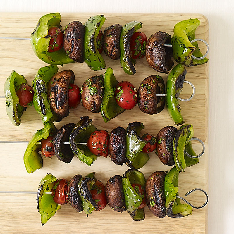 Photo of Grilled vegetable kebabs by WW