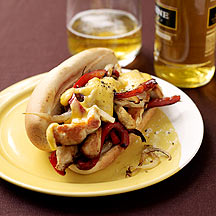 Photo of Philly chicken cheese steaks by WW