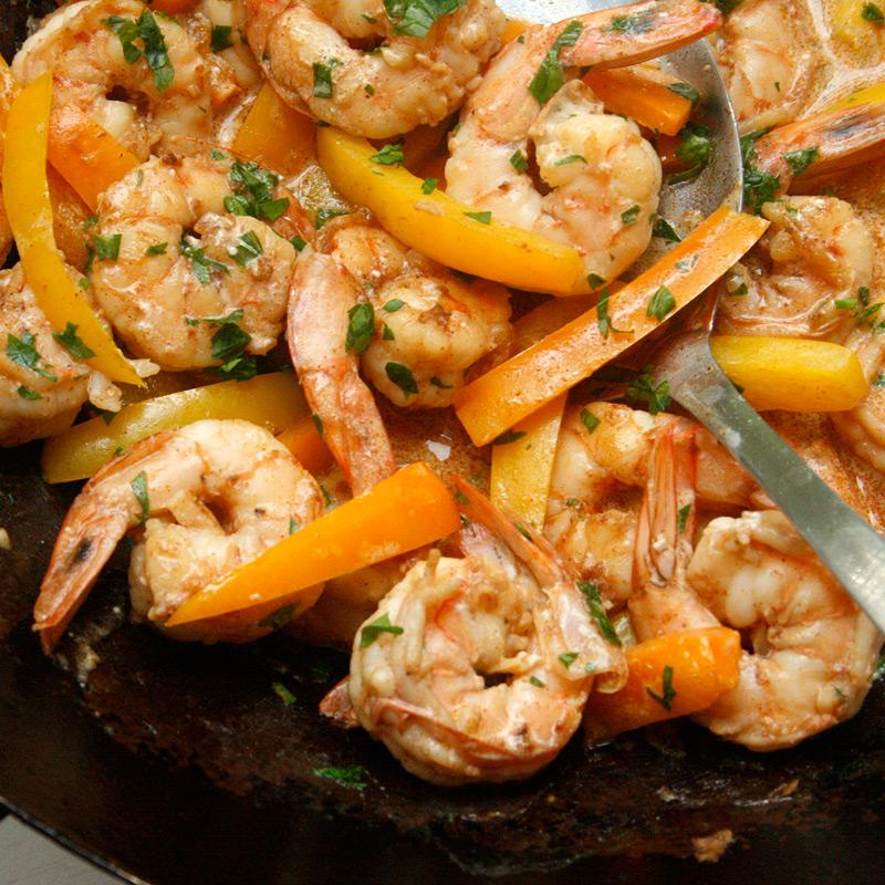 Photo of Cajun Shrimp and Pepper Stir-Fry by WW
