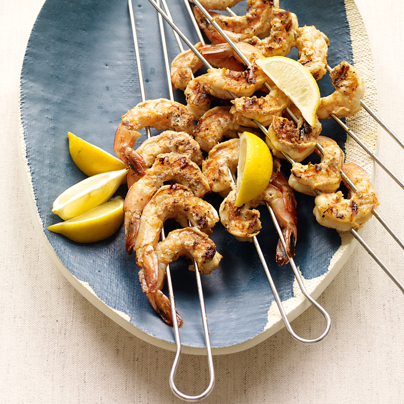 Photo of Spanish-Inspired Grilled Shrimp by WW