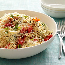 Photo of Tomato, Herb and Goat Cheese Capellini by WW