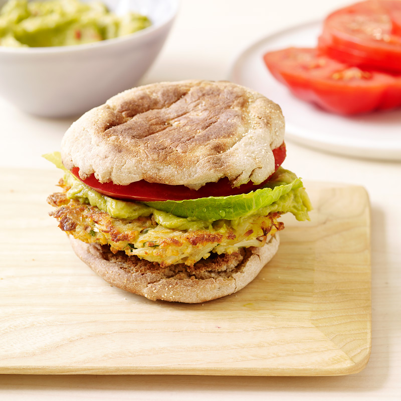 Photo of Mexican-spiced crab burgers by WW