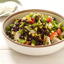 Photo of Southwestern Chicken-Bean Salad by WW