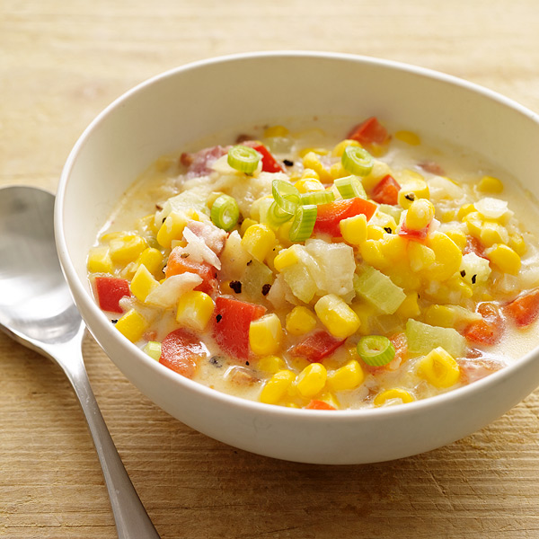 ... .com: Weight Watchers Recipe - Summer Corn, Bacon and Potato Chowder