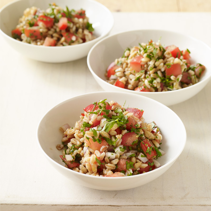 Photo of Farro Salad with Tomatoes and Balsamic Vinegar by WW