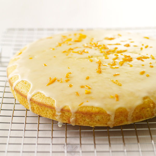 ... .com: Weight Watchers Recipe - Glazed Orange Cornmeal Cake