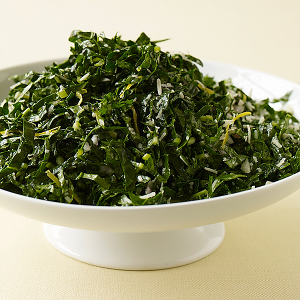 ... .com: Weight Watchers Recipe - Shredded Kale with Lemon and Parmesan