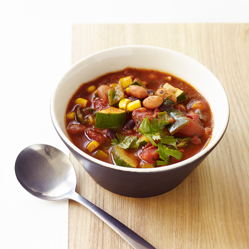 Photo of Spicy Slow Cooker Vegetarian Chili by WW