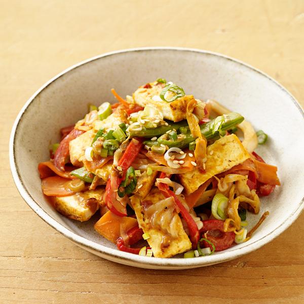 ... .com: Weight Watchers Recipe - Tofu Stir Fry with Peanut Sauce