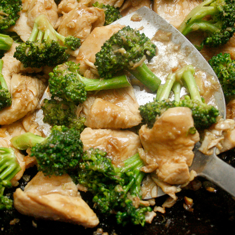 Photo of Ginger chicken and broccoli stir-ftry by WW