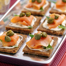 Photo of Smoked Salmon Canapes by WW