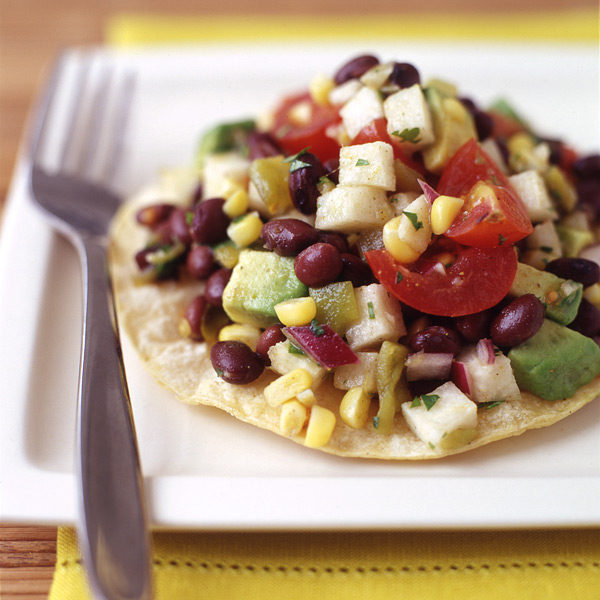 ... .com: Weight Watchers Recipe - Mexican Black Bean Salad Tostada
