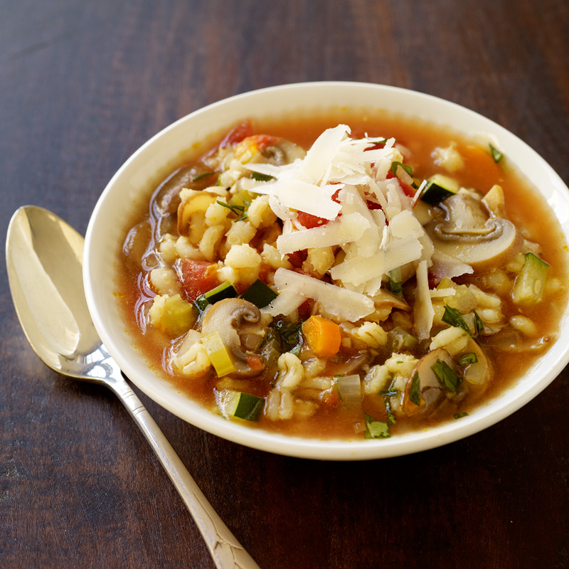 Photo of Vegetable barley soup by WW