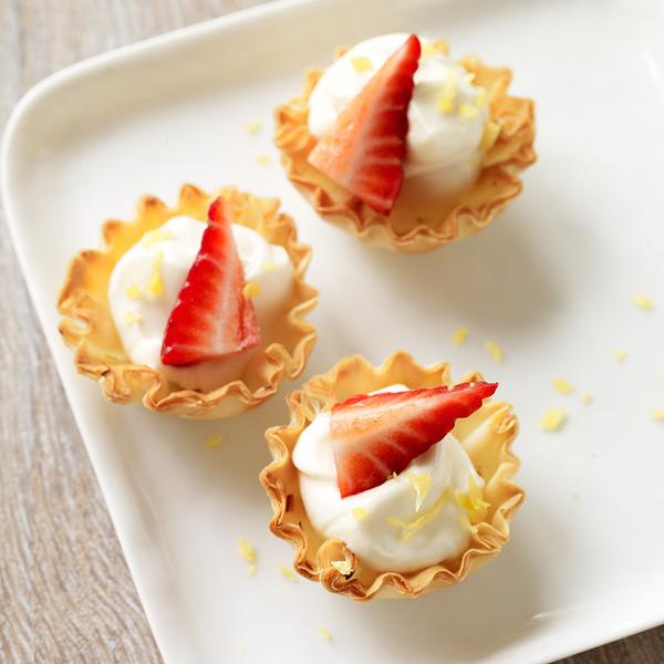 ... .com: Weight Watchers Recipe - Mini Strawberry Lemon Cheesecake Tarts