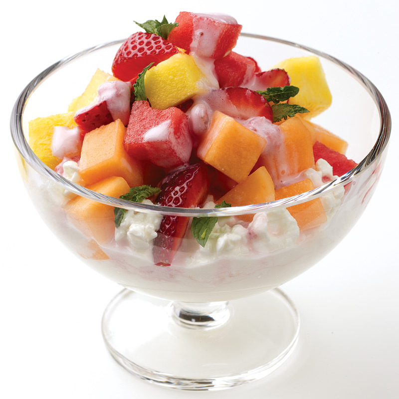Photo of Strawberry mint fruit salad by WW