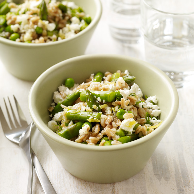 Spring Asparagus Salad With Feta Food And Wine