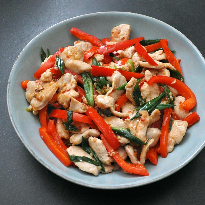 Photo of Sambal chicken stir-fry by WW