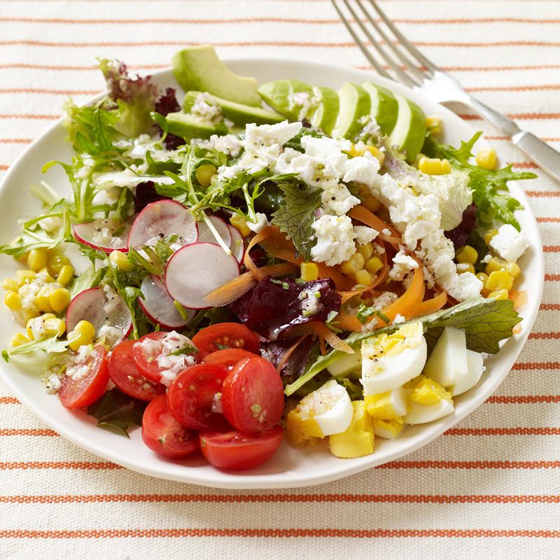 Photo of Egg, veggie and avocado salad with tarragon vinaigrette by WW