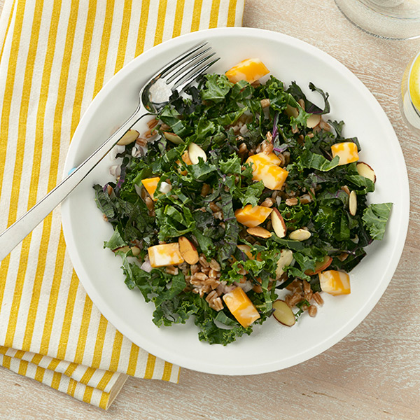 Photo of Kale and whole grain salad by WW