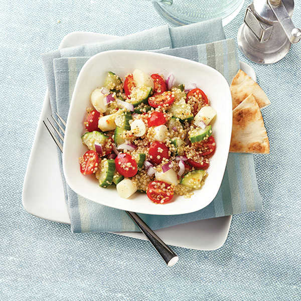 Photo of Smoked Mozzarella and Quinoa Salad by WW