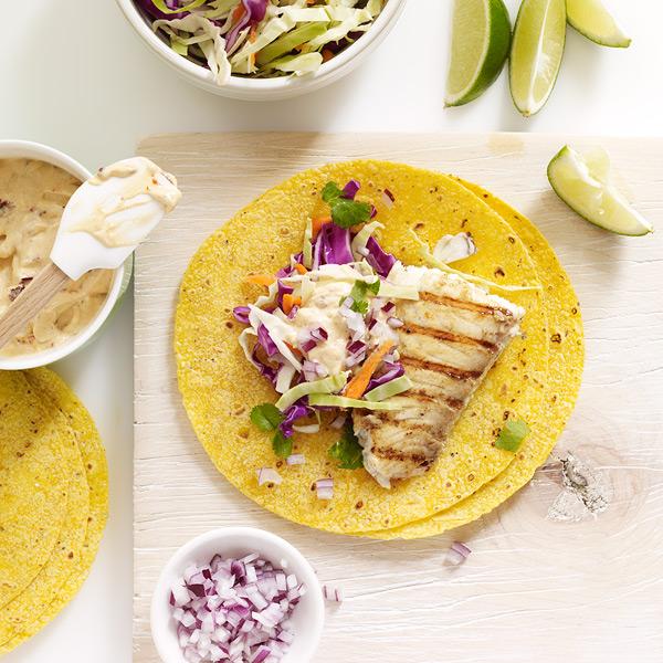 Weight watchers recipe tilapia tacos for Fish taco aioli
