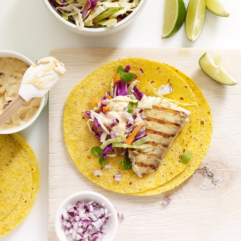 Photo of Tilapia Tacos with Chipotle Aioli by WW