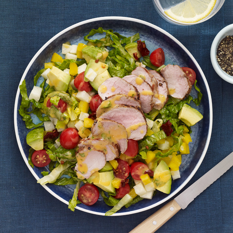 Photo of Chipotle-grilled pork salad by WW