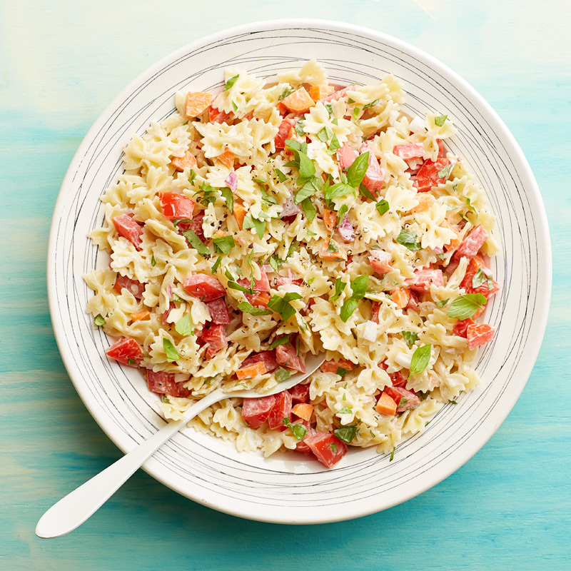 Photo of Pasta salad with tomato and basil by WW