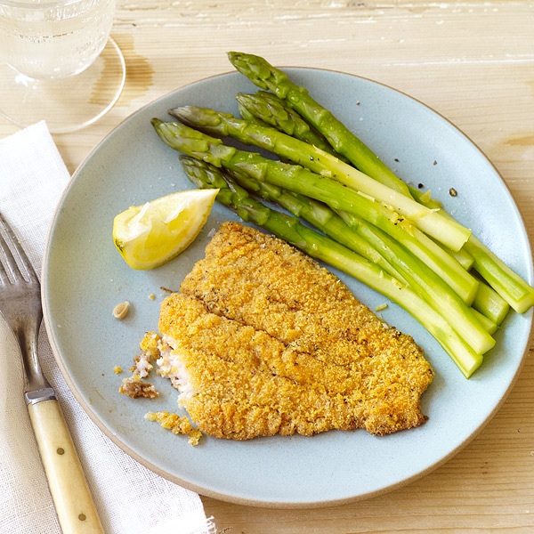 ... Catfish Recipe Cornmeal Cornmeal-battered oven-fried Pin by KitchMe on