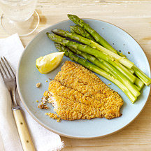 Photo of Cornmeal-battered oven-fried catfish by WW