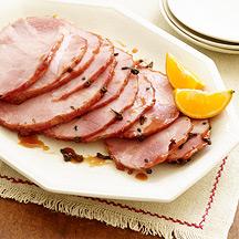 Photo of Cranberry-orange glazed ham by WW