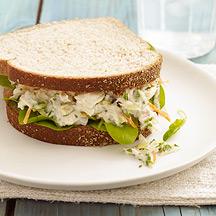 Photo of Lemon-pepper tuna sandwiches by WW