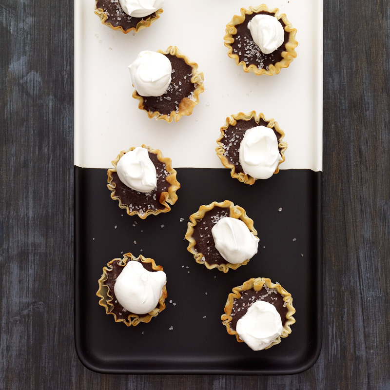 Photo of Dark Chocolate and Sea Salt Tartlets by WW