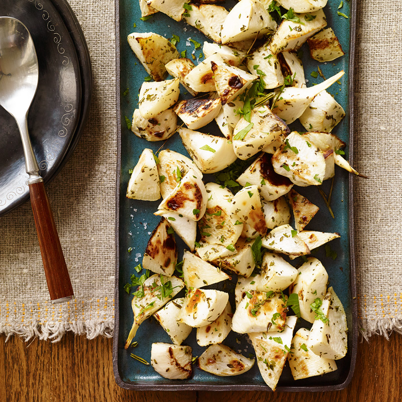 Photo of Herb roasted turnips by WW