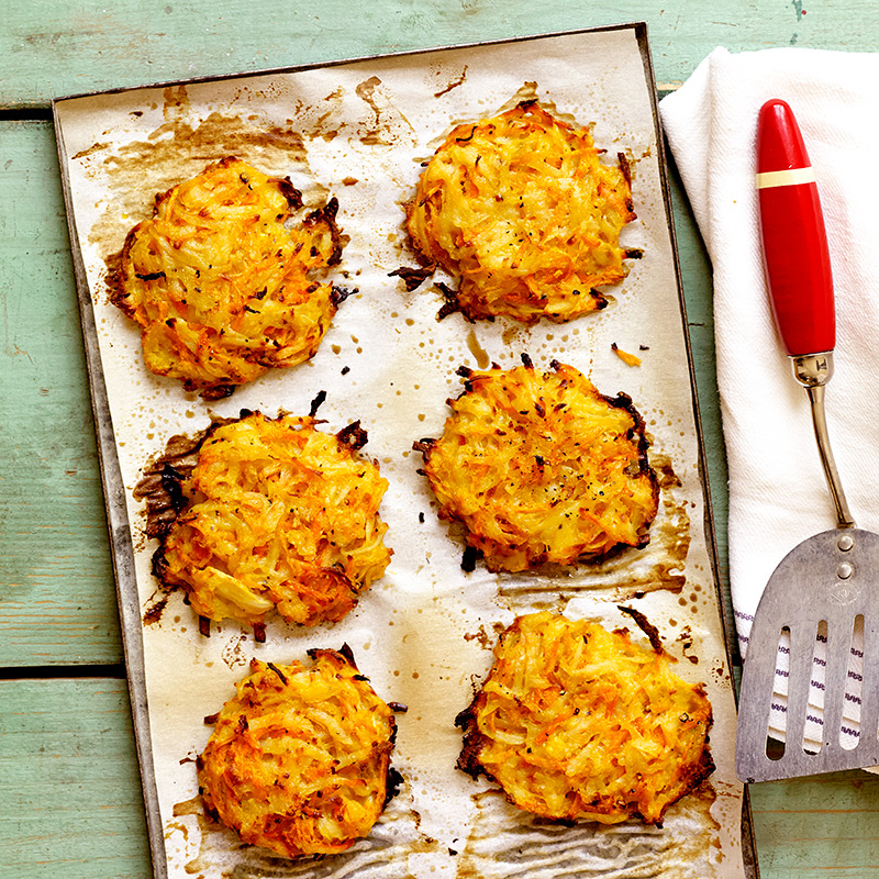 shredded potato cake recipes