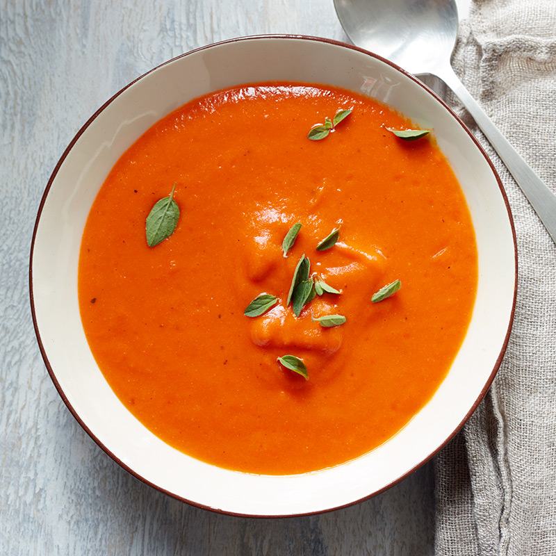Photo of Spanish-Spiced Roasted Pepper Bisque by WW