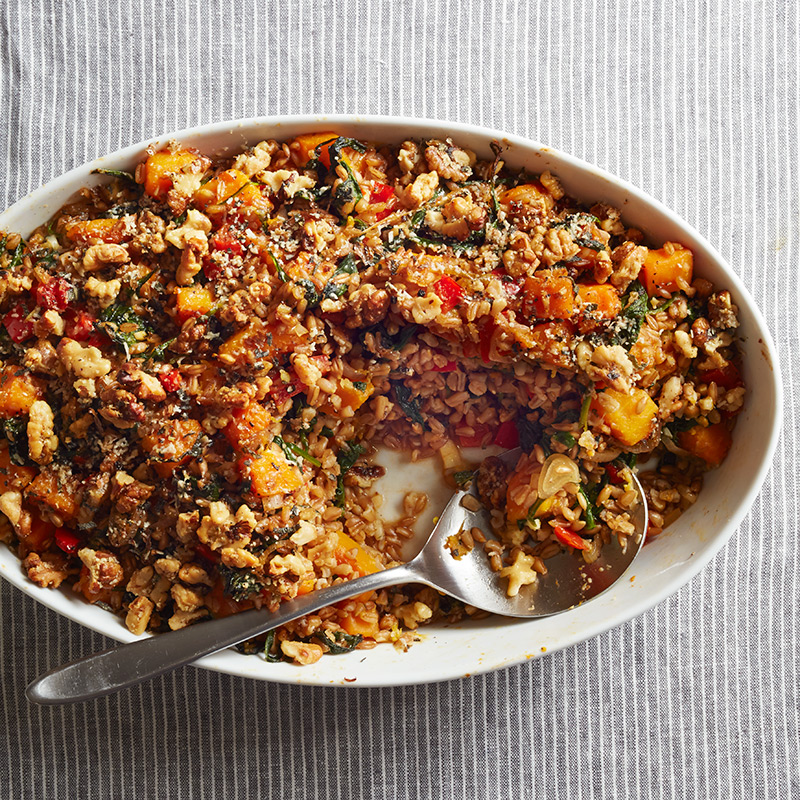 Photo of Butternut Squash Farro Bake by WW
