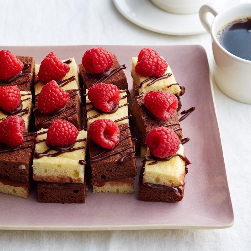 Photo of Chocolate-raspberry petit fours by WW
